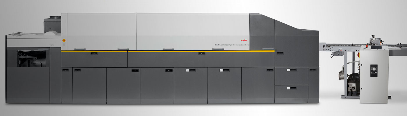 Kodak NexPress ZX3900 5-Color Digital Press