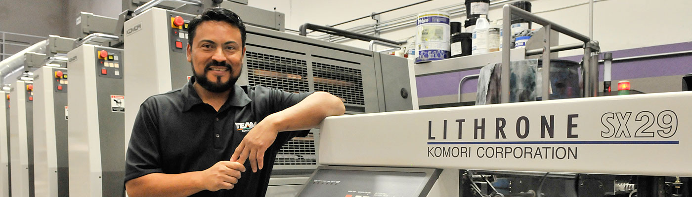 Komori Lithrone SX29 6-Color Offset Printing Press