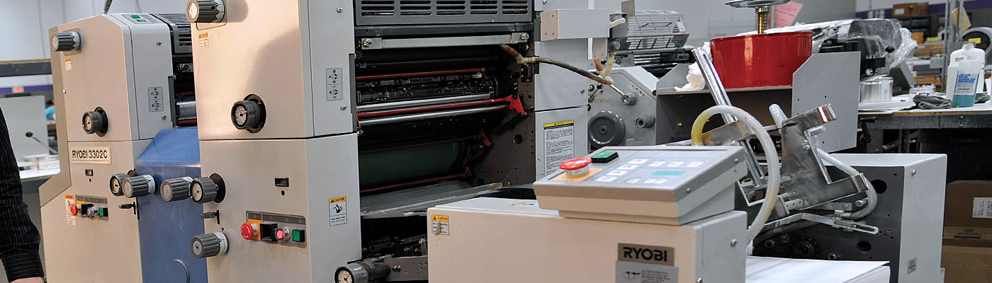 Ryobi 3202 2-Color Offset Printing Press