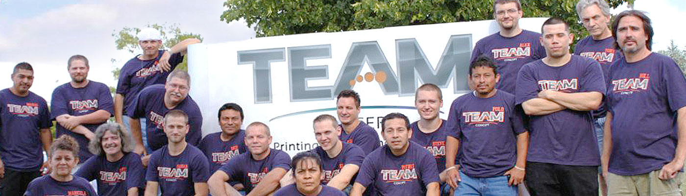 Team Concept Printing and Thermography, Inc.