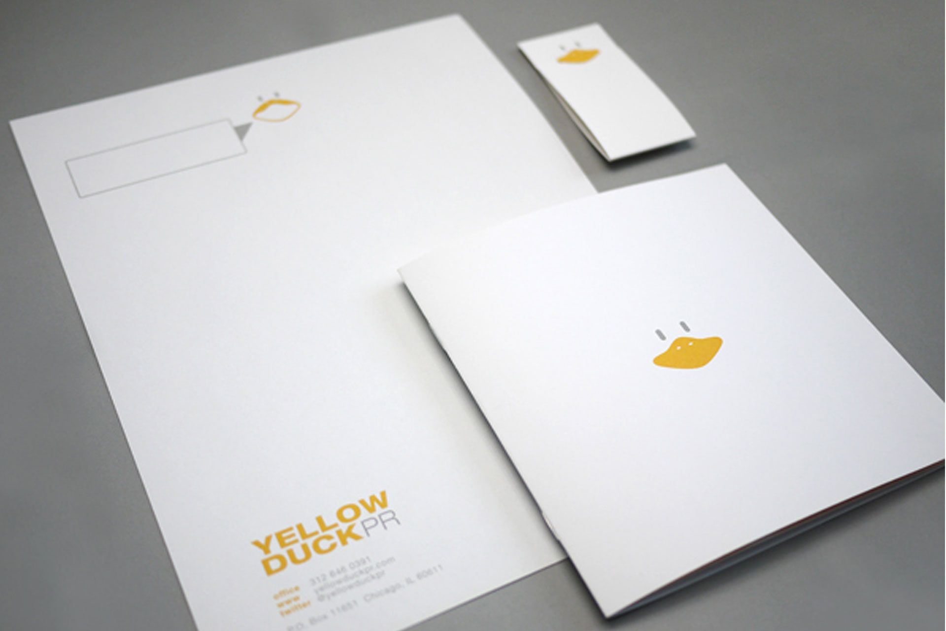 2-Color Stationery / Letterhead