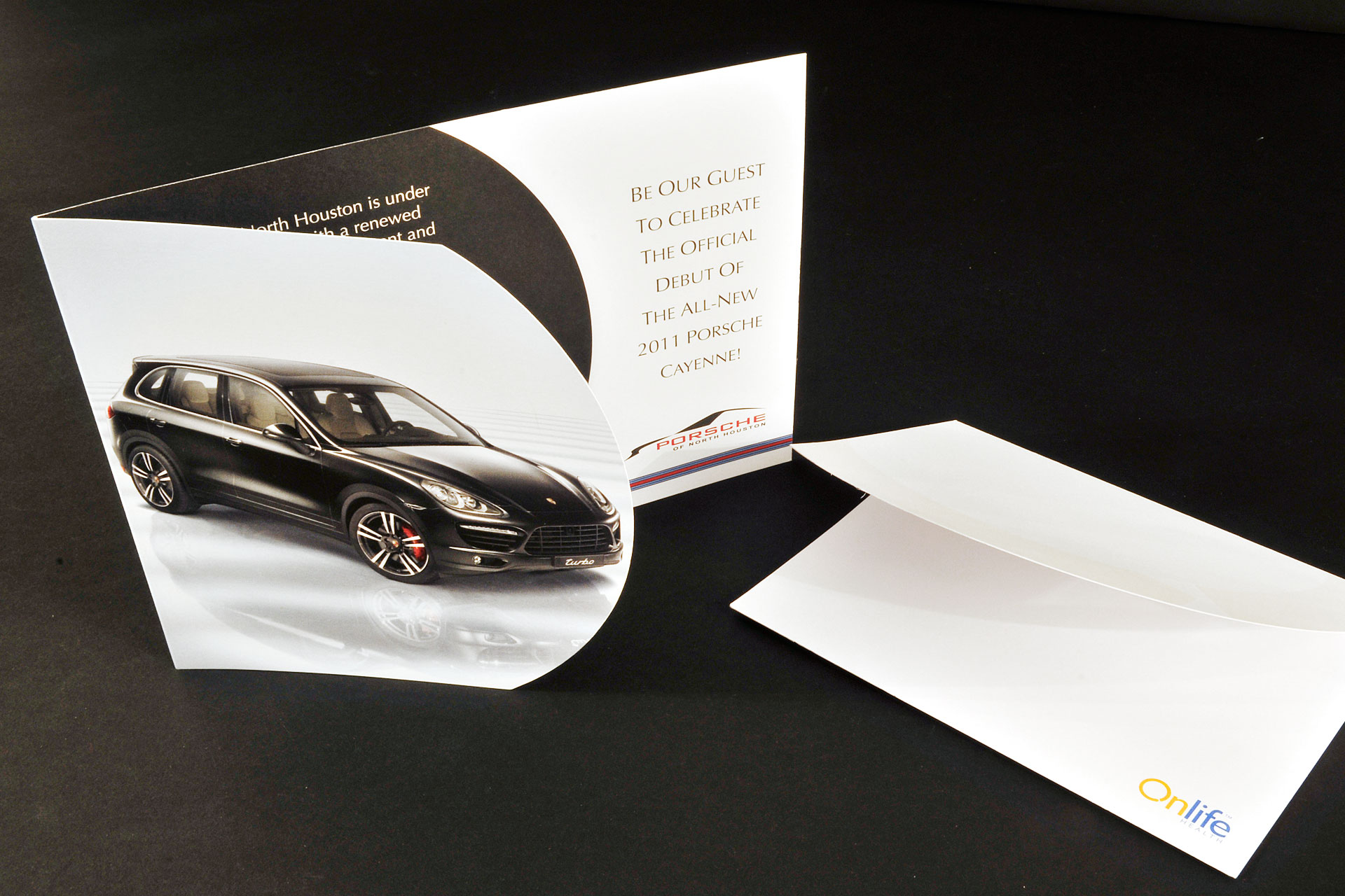 CMYK Automotive Sales Event Invitation