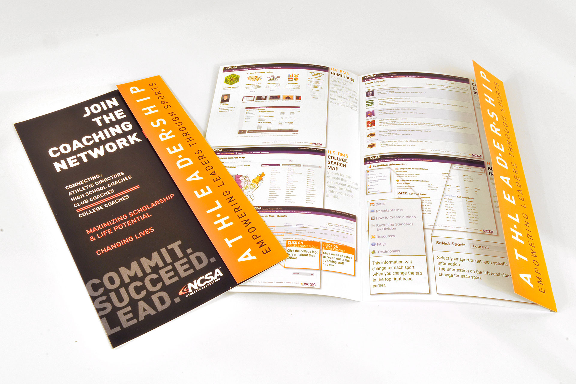 custom printed brochures pamphlets flyers marketing materials