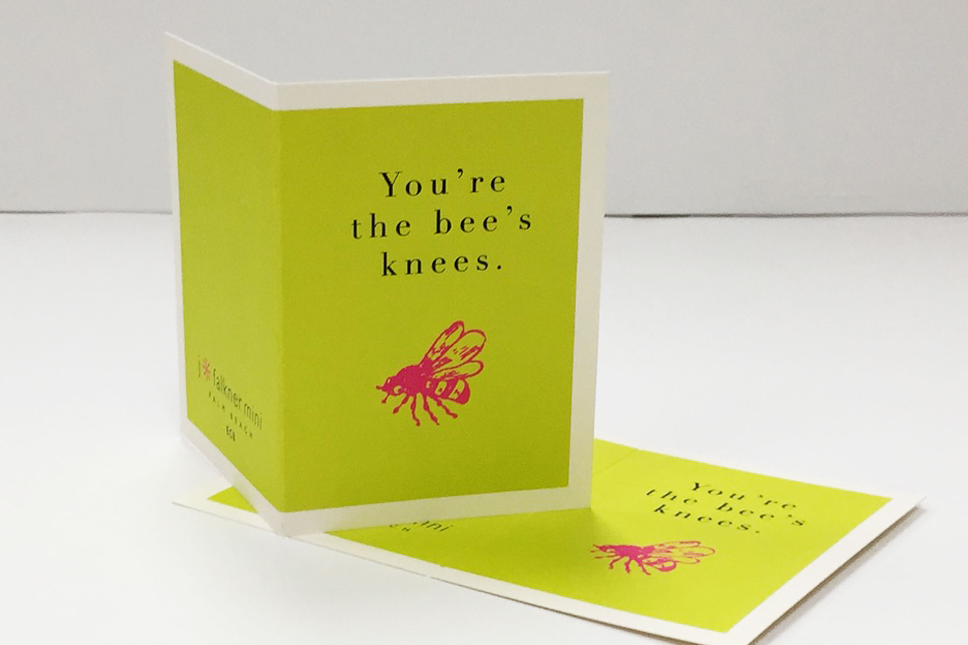 Spot Color Greeting Card