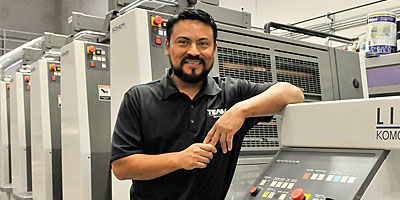 Komori 6-color Offset Printing Press